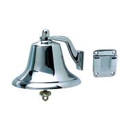 """Perko Chrome Plated Bronze Fog Bell - 6""""  [0420006CHR]"""