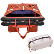 VIKING Coastal Life Raft 4 Person Low Profile Container  [L004CL0015ACI]