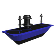 Navico StructureScan 3D Stainless Steel Thru-Hull Transducer - Single [000-13559-001]