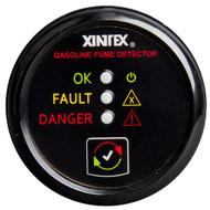 Xintex Gasoline Fume Detector & Alarm w\/Plastic Sensor - Black Bezel Display [G-1B-R]