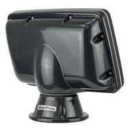 """NavPod PP4400 PowerPod Uncut (Usable Face = 8.75""""W x 6""""H) (22.2cm W x 15.2cm H) - Carbon Black [PP4400-C]"""