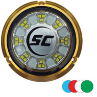 Shadow-Caster SCR-24 Bronze Underwater Light - 24 LEDs - Full Color Changing [SCR-24-CC-BZ-10]