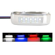 Innovative Lighting RGBW Tri-Lite w\/Stainless Steel Bezel [055-43250-7]