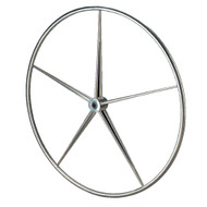 "Edson 40"" Stainless B-Spoke Destroyer Wheel [649-40]"