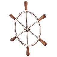 """Edson 24"""" Bronze Wheel w\/Teak Handles [602BR-24]"""
