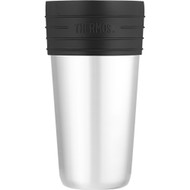 Thermos Vacuum Insulated Stainless Steel Coffee Cup Insulator - 20oz [JCF600SS4]