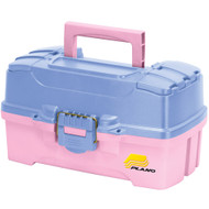 Plano Two-Tray Tackle Box w\/Dual Top Access - Periwinkle\/Pink [620292]