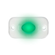"HEISE Marine Auxiliary Accent Lighting Pod - 1.5"" x 3"" - White\/Green [HE-ML1G]"