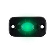 """HEISE Auxiliary Accent Lighting Pod - 1.5"""" x 3"""" - Black\/Green [HE-TL1G]"""