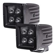 """HEISE Blackout 4 LED Cube Light - 3"""" - 2 Pack [HE-BCL2S2PK]"""