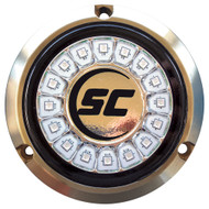 Shadow-Caster Great White Single Color Underwater Light - 16 LEDs - Bronze [SCR-16-GW-BZ-10]