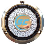 Shadow-Caster Bimini Blue Single Color Underwater Light - 16 LEDs - Bronze [SCR-16-BB-BZ-10]
