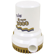 "Rule 2000 G.P.H. ""Gold Series"" Bilge Pump  [09]"