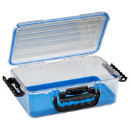 Plano Guide Series Waterproof Case 3700 - Blue\/Clear [147000]