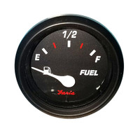 """Faria Professional 2"""" Fuel Level Gauge - Red [14601]"""