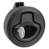 Whitecap Mini Ring Pull Nylon Locking Black [3228BC]
