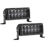 "Rigid Industries SAE Compliant E-Series 6"" Light Bar - Black [106613]"