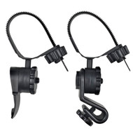 Princeton Tec Hard Hat Light Mounts - Black [HEL-KIT]