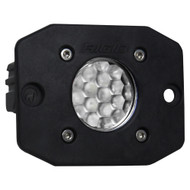 Rigid Industries Ignite Flush Mount Diffused - Single - Black [20631]