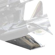 Megaware SkegGuard - Stainless Steel - Mercuiser Bravo I  III 1990-Present [27051]