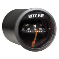 Ritchie X-21BB RitchieSport Compass - Dash Mount - Black/Black  [X-21BB]