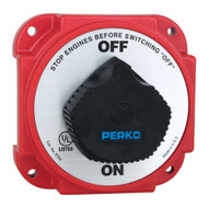 Perko 9703DP Heavy Duty Battery Disconnect Switch w/ Alternator Field Disconnect  [9703DP]