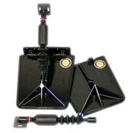 Nauticus SX9510-80 Smart Tab SX Series Trim Tabs 9.5 X 10 16-20 FT      W/150-225 HP  [SX9510-80]