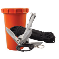 Scotty Anchor Kit - 1.5lbs Anchor & 50' Nylon Line  [797]