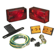 "Wesbar Submersible Over 80"" Taillight Kit w/Sidemarkers  [407515]"