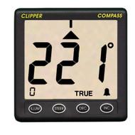 Clipper Compass System w/Remote Fluxgate Sensor  [CL-C]