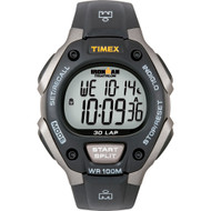 Timex Ironman Triathlon 30 Lap Grey/Black  [T5E901]