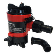 "Johnson Pump 1000 GPH Bilge Pump 3/4"" 12V Dura Ports  [32903]"