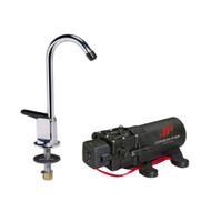 Johnson Pump 1.1 Pump/Faucet Combo 12V  [61123]