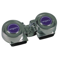 Ongaro Mini Compact Twin Horn - 12V  [10001]