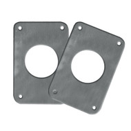 TACO Backing Plates f/Grand Slam Outriggers - Anodized Aluminum  [BP-150BSY-320-1]