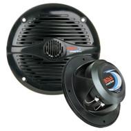"""Boss Audio MR50B 5.25"""" Round Marine Speakers - (Pair) Black  [MR50B]"""
