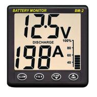 Clipper BM-2 Battery Monitor w/Shunt - 200Amp  [BM-2]