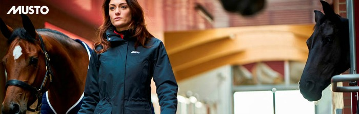 Musto riding clothing