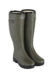 Le Chameau Ladies Country Fourree Boots - Vert Chameau