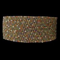 Camo bracelet, lightweight, 1-inch wide, XL