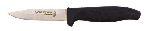 "Dexter Russell SofGrip 4"" Carry Knife With Sheath Straight Edge 24723B Sg142-4B"