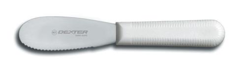 Dexter Russell 3 1/2 inch scalloped sandwich spreader 18213 S173SC