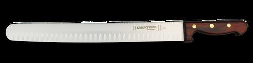 "Dexter Russell Connoisseur 14"" Duo-Edge Wide Roast Slicer 13062 40D-14W-PCP"