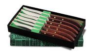 Dexter Russell Connoisseur 6 PC. Steak Knife Set With Gift Box 18231 965SC-6P