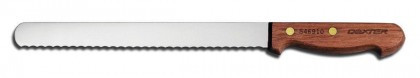 """Dexter Russell 10"""" Traditional Scalloped Slicer 13250 S46910PCP"""