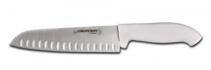 "Dexter Russell SofGrip 9"" Duo-Edge Santoku Cook's Knife 24513 SG144-9GE"