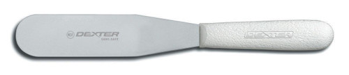 """Dexter Russell Sani-Safe 6 1/2"""" Frosting Spatula Yellow Handle 19803Y S284-6??®Y-PCP"""