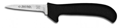 """Dexter Russell Sani-Safe 3 1/4"""" Clip Point Deboning Poultry Knife Black Handle 11193B EP152HGB (11193B)"""