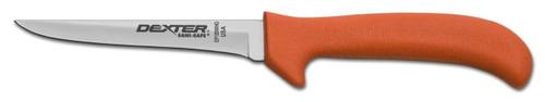 "Dexter Russell Sani-Safe 5"" Wide Utility Deboning Poultry Knife Black Handle 11223B EP155WHGB"