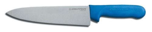 "Dexter Russell Sani-Safe 8"" Cooks Knife, Blue Handle 12443c S145-8C-PCP"